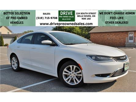 2015 Chrysler 200 Limited (Stk: D0294) in Belle River - Image 1 of 26
