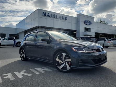 2018 Volkswagen Golf GTI 5-Door Autobahn (Stk: P8083) in Vancouver - Image 1 of 20
