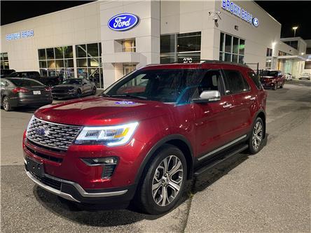 2018 Ford Explorer Platinum (Stk: 20616B) in Vancouver - Image 1 of 28