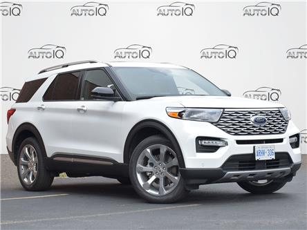 2020 Ford Explorer Platinum (Stk: XB825) in Waterloo - Image 1 of 15