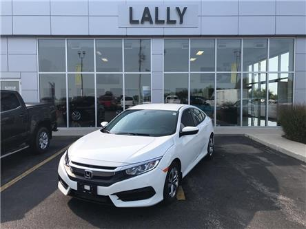 2017 Honda Civic Sedan Back-up Cam, BT, Low km's, well maintained (Stk: 64866) in Tilbury - Image 1 of 21