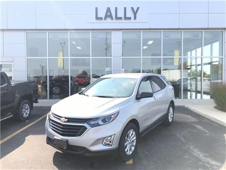 2019 Chevrolet Equinox LS, Remote Start, heated Seats, Back-up Cam (Stk: 00212A) in Tilbury - Image 1 of 22