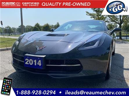 2014 Chevrolet Corvette Stingray Base (Stk: P-4352) in LaSalle - Image 1 of 20
