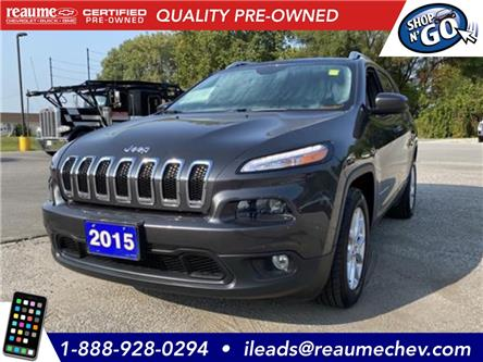 2015 Jeep Cherokee North (Stk: 21-0030A) in LaSalle - Image 1 of 20