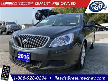 2016 Buick Verano Base (Stk: 20-0738A) in LaSalle - Image 1 of 20