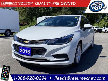 2016 Chevrolet Cruze LT Auto (Stk: L-4359) in LaSalle - Image 1 of 22