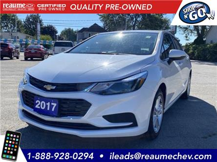 2017 Chevrolet Cruze LT Auto (Stk: 19-0806A) in LaSalle - Image 1 of 23