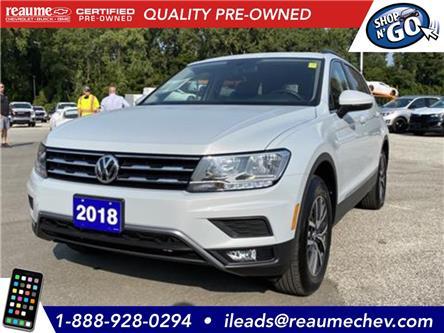 2018 Volkswagen Tiguan Comfortline (Stk: 20-0569A) in LaSalle - Image 1 of 22