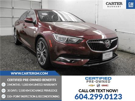 2019 Buick Regal Sportback Essence (Stk: P9-61950) in Burnaby - Image 1 of 24