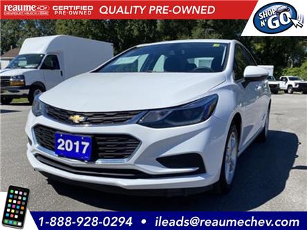 2017 Chevrolet Cruze LT Auto (Stk: L-4361) in LaSalle - Image 1 of 22