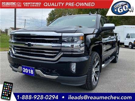 2018 Chevrolet Silverado 1500 High Country (Stk: P-4375) in LaSalle - Image 1 of 28