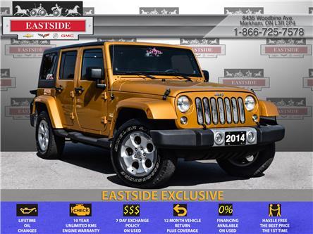 2014 Jeep Wrangler Unlimited Sahara (Stk: 312427B) in Markham - Image 1 of 20