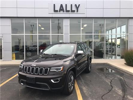 2017 Jeep Grand Cherokee Leather | Roof | Heated Seats | Back-up Cam (Stk: 00217A) in Tilbury - Image 1 of 24
