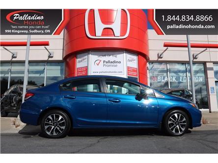2015 Honda Civic EX (Stk: U9662A) in Greater Sudbury - Image 1 of 37