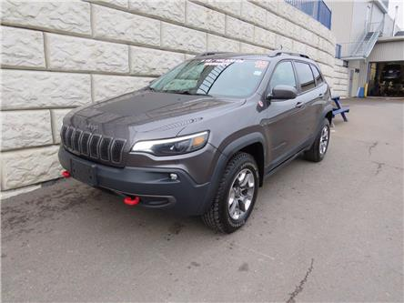 2019 Jeep Cherokee Trailhawk (Stk: D10016B) in Fredericton - Image 1 of 18