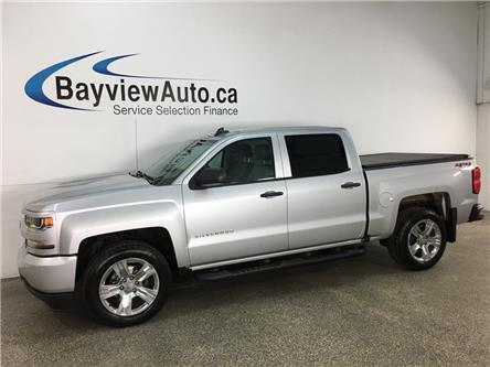 2018 Chevrolet Silverado 1500 Silverado Custom (Stk: 37063W) in Belleville - Image 1 of 28