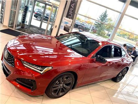 2021 Acura TLX A-SPEC (Stk: 21TL0165) in Red Deer - Image 1 of 6