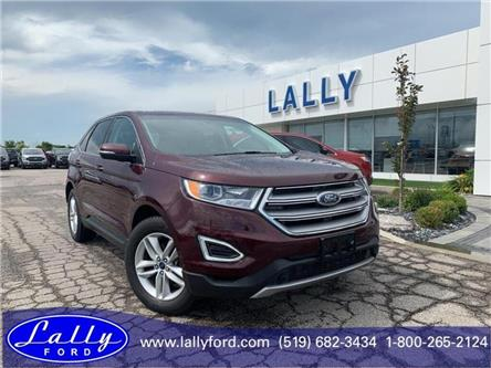 2017 Ford Edge SEL (Stk: 26682B) in Tilbury - Image 1 of 17
