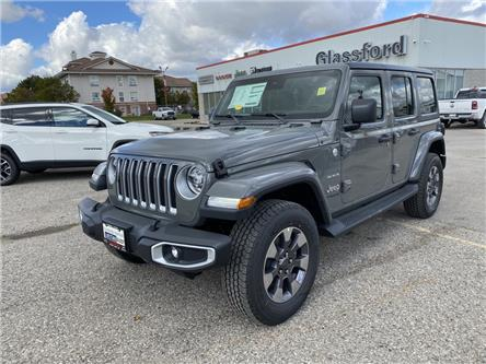 2021 Jeep Wrangler Unlimited Sahara (Stk: 21-021) in Ingersoll - Image 1 of 18
