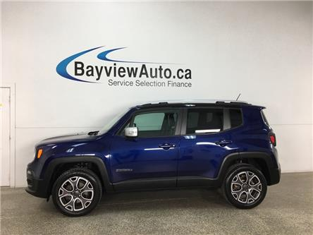 2016 Jeep Renegade Limited (Stk: 37056RA) in Belleville - Image 1 of 27