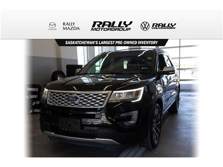 2016 Ford Explorer Platinum (Stk: V1284) in Prince Albert - Image 1 of 15