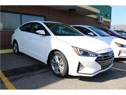 2020 Hyundai Elantra Preferred w/Sun & Safety Package (Stk: 02056) in Saint John - Image 1 of 4