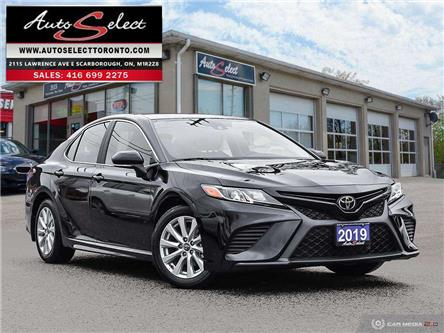 2019 Toyota Camry SE (Stk: T1M646) in Scarborough - Image 1 of 29