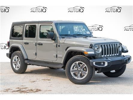 2021 Jeep Wrangler Unlimited Sahara (Stk: 95967) in St. Thomas - Image 1 of 22