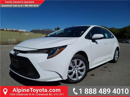 2021 Toyota Corolla LE (Stk: P154033) in Cranbrook - Image 1 of 21