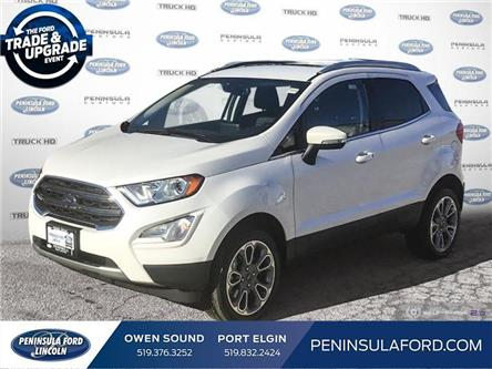 2020 Ford EcoSport Titanium (Stk: 20EC01) in Owen Sound - Image 1 of 25