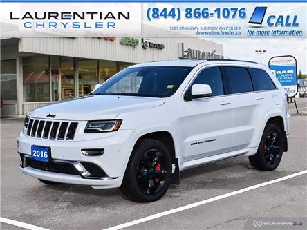2016 Jeep Grand Cherokee Overland (Stk: 20107A) in Sudbury - Image 1 of 30
