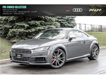 2018 Audi TTS 2.0T (Stk: C7849) in Vaughan - Image 1 of 22