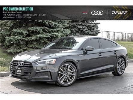 2019 Audi A5 45 Progressiv (Stk: T18661A) in Vaughan - Image 1 of 22