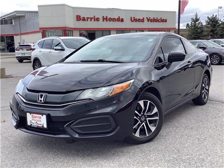 2015 Honda Civic EX (Stk: U15590) in Barrie - Image 1 of 25