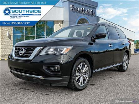 2019 Nissan Pathfinder SV Tech (Stk: A14624A) in Red Deer - Image 1 of 25