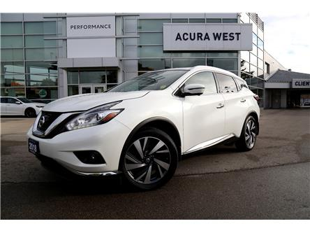 2018 Nissan Murano Platinum (Stk: 21033a) in London - Image 1 of 19