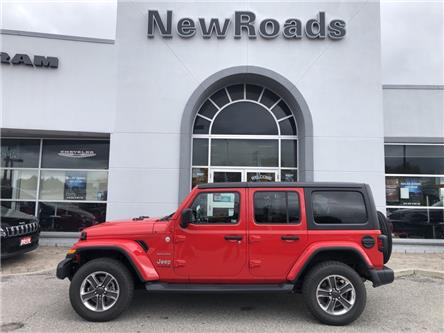 2020 Jeep Wrangler Unlimited Sahara (Stk: 25066P) in Newmarket - Image 1 of 10