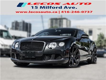 2013 Bentley CONTINENTAL GT SPEED GT SPEED (Stk: 083535) in Toronto - Image 1 of 26