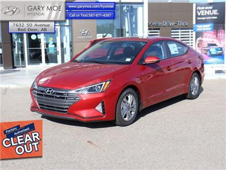 2020 Hyundai Elantra Preferred w/Sun & Safety Package (Stk: 0EL3827) in Red Deer - Image 1 of 9