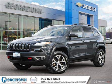 2017 Jeep Cherokee Trailhawk (Stk: 32487) in Georgetown - Image 1 of 27