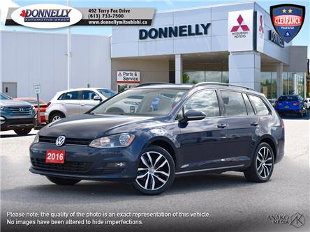 2016 Volkswagen Golf Sportwagon  (Stk: MU1044) in Kanata - Image 1 of 29