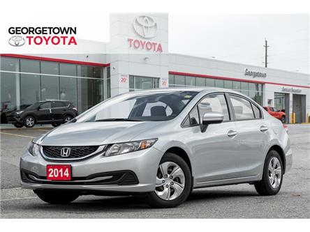 2014 Honda Civic LX (Stk: 14-08275GT) in Georgetown - Image 1 of 18