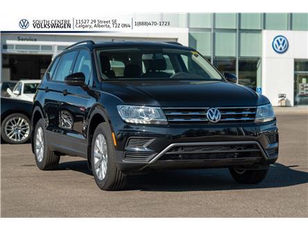 2020 Volkswagen Tiguan Trendline (Stk: 00206) in Calgary - Image 1 of 38