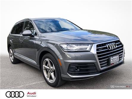 2018 Audi Q7 3.0T Progressiv (Stk: 20544) in Windsor - Image 1 of 29