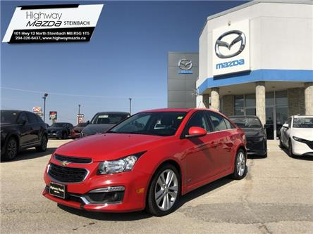 2015 Chevrolet Cruze LT Turbo (Stk: A0314) in Steinbach - Image 1 of 21