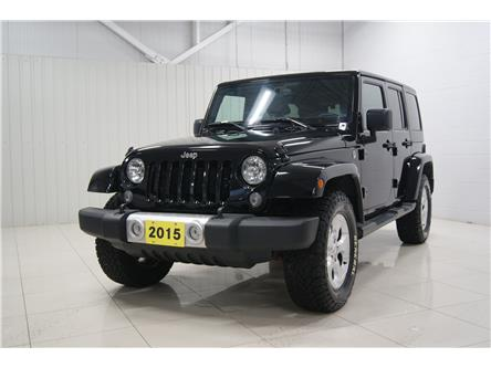 2015 Jeep Wrangler Unlimited Sahara (Stk: T20351A) in Sault Ste. Marie - Image 1 of 15