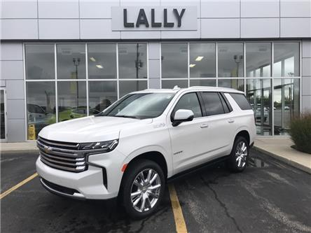 2021 Chevrolet Tahoe High Country (Stk: TA00343) in Tilbury - Image 1 of 27