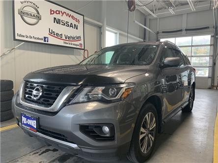 2017 Nissan Pathfinder SL (Stk: P0826) in Owen Sound - Image 1 of 16