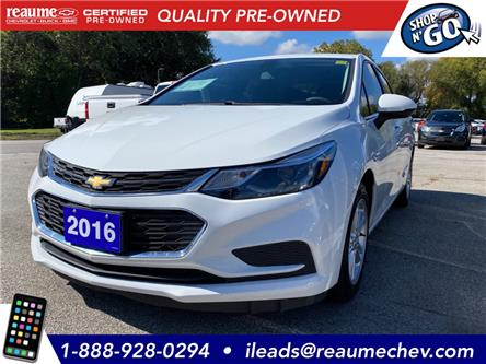 2016 Chevrolet Cruze LT Auto (Stk: L-4372) in LaSalle - Image 1 of 21