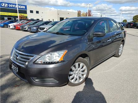 2015 Nissan Sentra 1.8 S (Stk: U1110A) in Clarington - Image 1 of 7